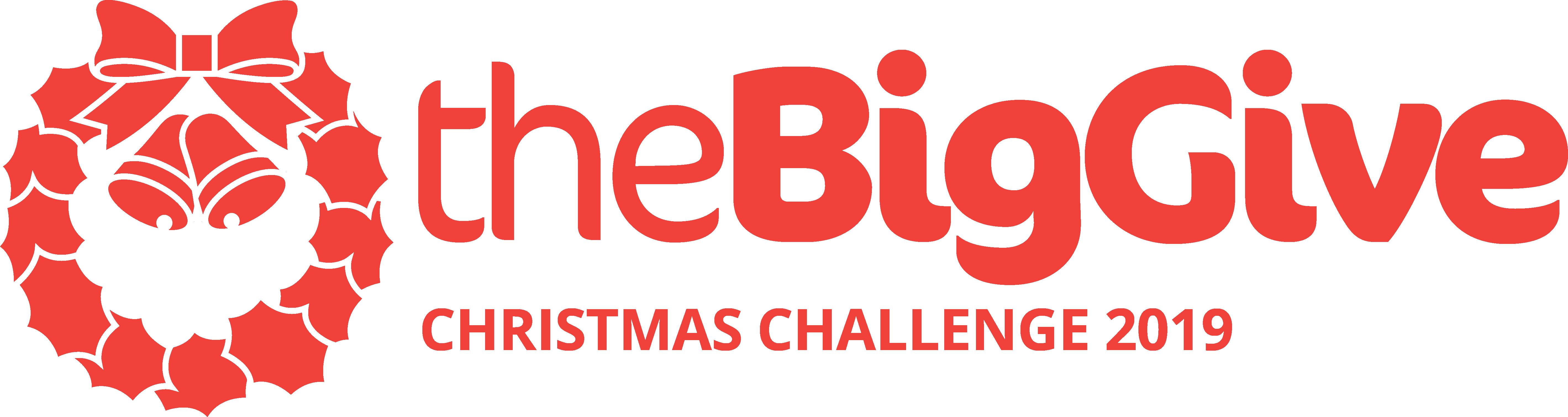 TBG Christmas Logo 2019 TBG Logo Horisonal Red Challenge