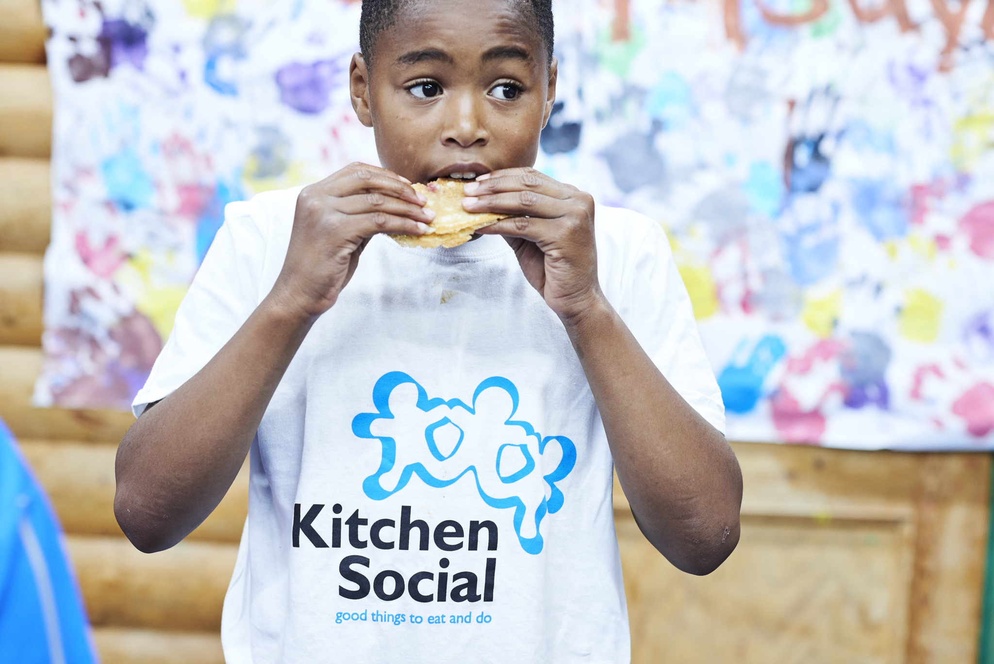 Young Boy At Kitchen Social Club Timbuktu Adventure Playground2C Islington
