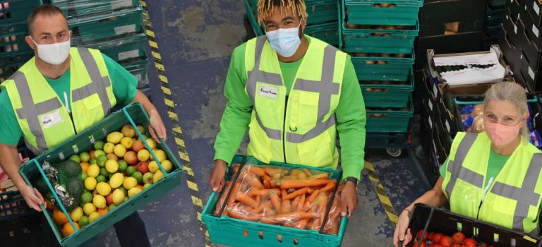 Volunteer food in london