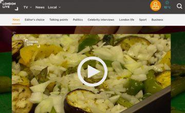 London Live webpage
