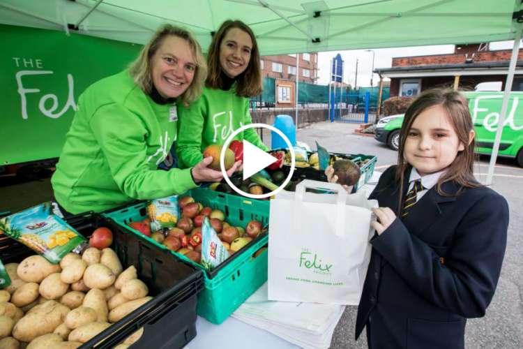 Felix Schools Programme Market Stall